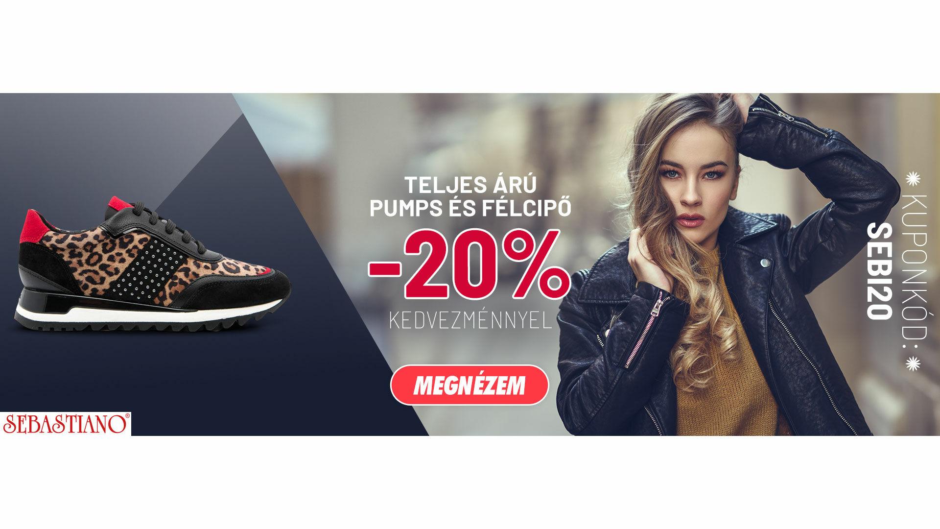 Félcipők Pumps-ök 20%