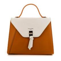 David Jones női műbőr táska cognac