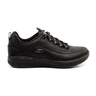 Skechers sportos félcipő fekete  177062_A