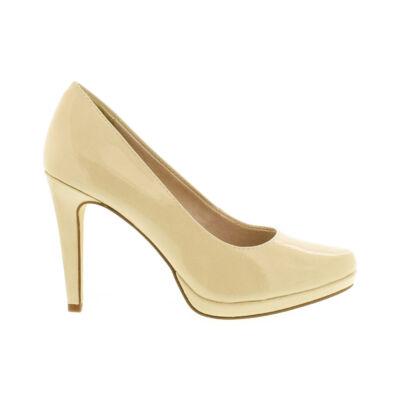 Tamaris pumps cream patent 452 beige  177934_A