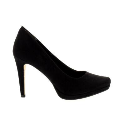 Tamaris pumps black001 fekete  177938_A
