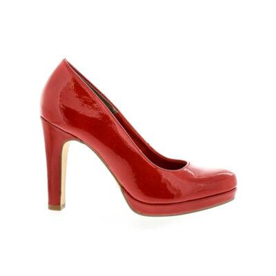 Tamaris pumps chili patent520 108  piros  178223_A