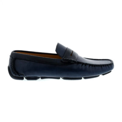 Mago férfi mokaszin navy blue kék  179870_A