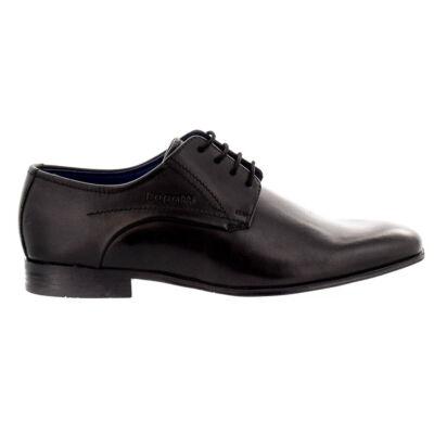 Bugatti férfi félcipő black1000 fekete  180499_A