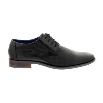 Bugatti férfi félcipő black1000 fekete  180506_A
