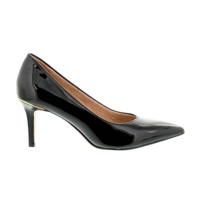 Tamaris pumps black pat018 fekete  181045_A