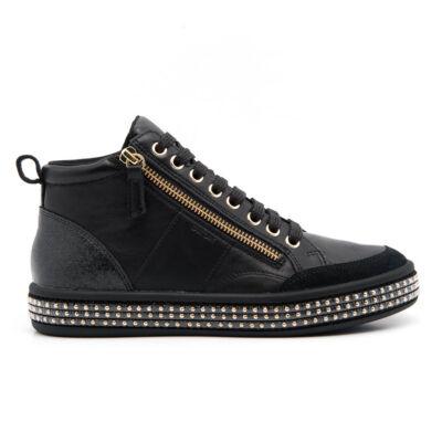 Geox női bokacipő  fekete  181430_A