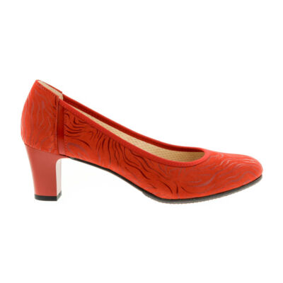 Anis pumps czerwona fala  piros  183113_A