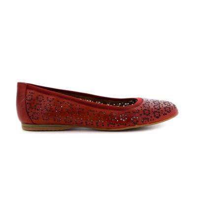 Tamaris  félcipő/chili533   piros  183566_A