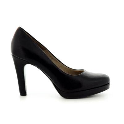 Tamaris pumps black matt020 fekete  183635_A
