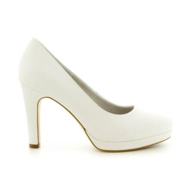 Tamaris pumps white matt140 fehér  183636_A