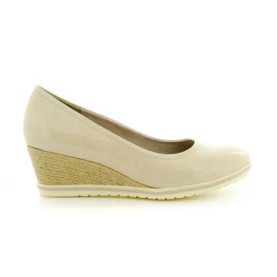Tamaris pumps cream pat451 beige  183642_A