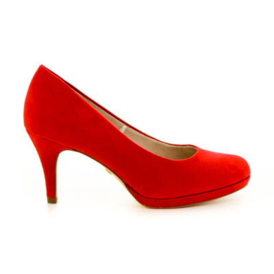 Tamaris pumps fire686 piros  183670_A