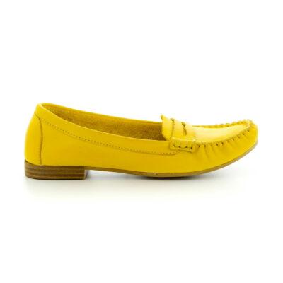 Tamaris félcipő sun602  sárga  183737_A