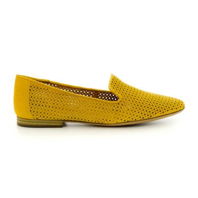 Tamaris félcipő sun602 sárga  183740_A