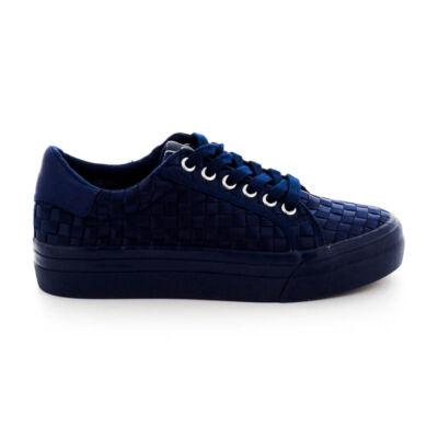 Tamaris félcipő navy805 W kék  184047_A