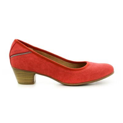 S.Oliver női pumps red500 piros  184353_A