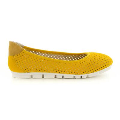 S.Oliver női félcipő saffron601 sárga  184369_A