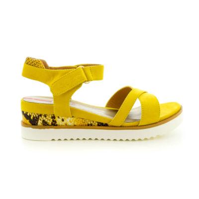 S.Oliver női szandál yellow600 sárga  184388_A