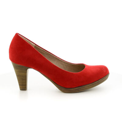 Marco Tozzi pumps red500  piros  184409_A