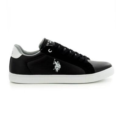 U.S.Polo fűzős sneaker black fekete  185175_A