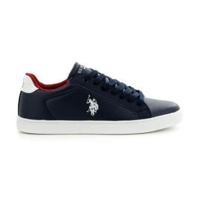 U.S.Polo fűzős sneaker dark blue kék  185176_A
