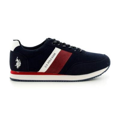 U.S.Polo fűzős sneaker dark blue  kék  185189_A