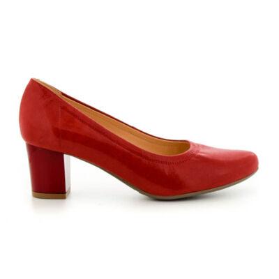 Bioeco bőr pumps 1796 piros piros  185285_A