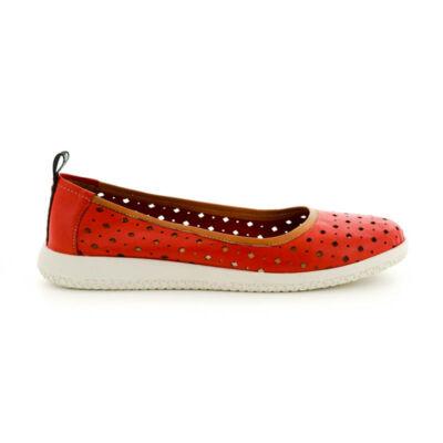 Mago bőr félcipő red tan piros  185390_A