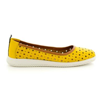 Mago bőr félcipő yellow tan sárga  185391_A