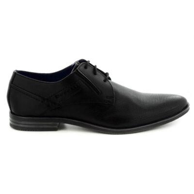 Bugatti félcipő/black1000 fekete  185705_A