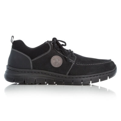 Rieker félcipő/schwarz kombi00 fekete  185812_A