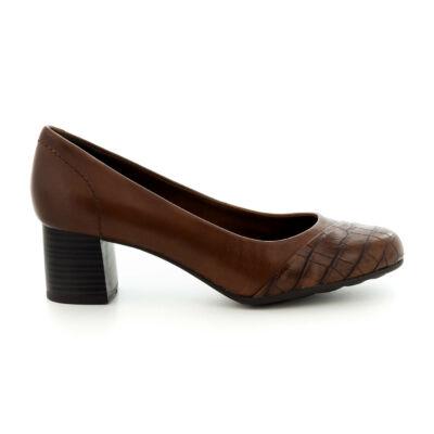 Jana pumps/cognac croco091    barna  186045_A