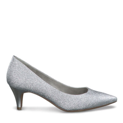 Tamaris pumps/silver glam963  ezüst  186143_A
