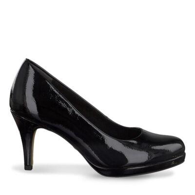 Tamaris pumps/black patent018 fekete  186163_A