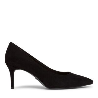Tamaris pumps/black suede004 fekete  186175_A