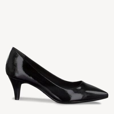 Tamaris pumps/black patent018 fekete  186178_A