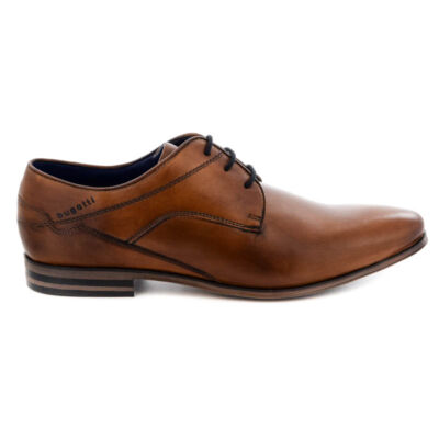 Bugatti félcipő/cognac6300 barna  186600_A