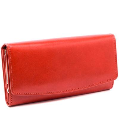 Centro Pelle pénztárca/ rosso