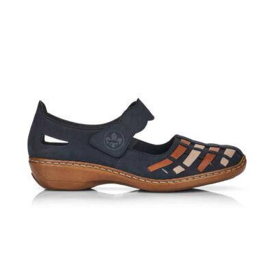 Rieker női félcipő /kék kék  187651_A