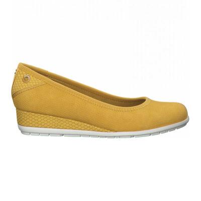 S.Oliver félcipő/yellow comb616 sárga  187827_A