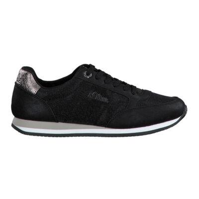 S.Oliver sportcipő/black met036 fekete  187860_A