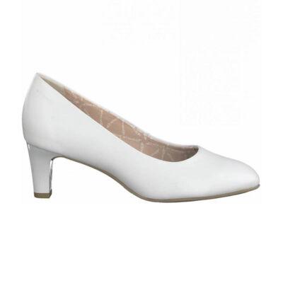 Tamaris pumps/white lea117   fehér  187921_A