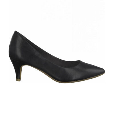 Tamaris pumps/black matt020 fekete  187939_A