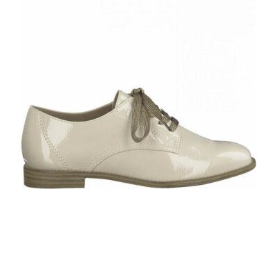 Tamaris félcipő/cream pat451  beige  187945_A