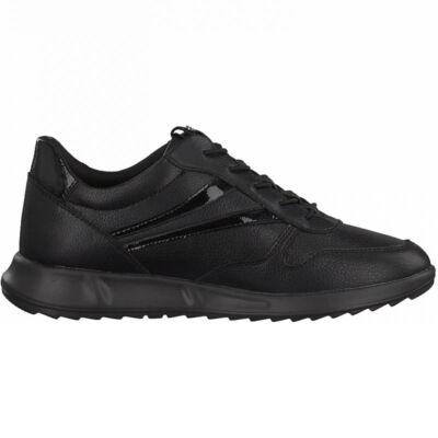 Tamaris sportcipő/black uni007 fekete  189435_A