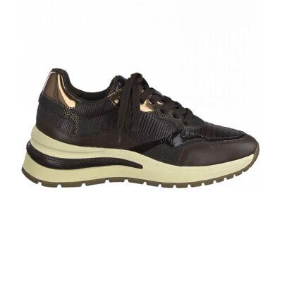 Tamaris sportcipő/mahagony c343  barna  189445_A