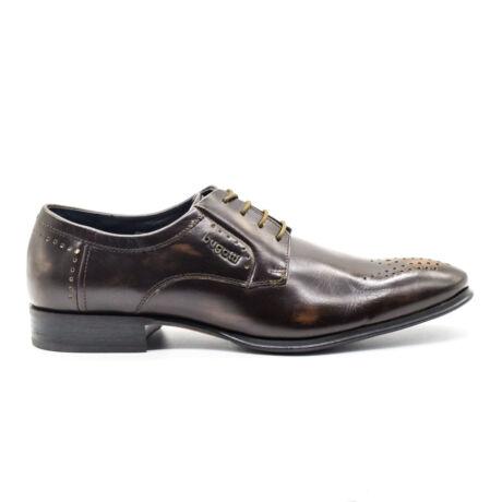 Bugatti félcipő sötétbarna  155173_A