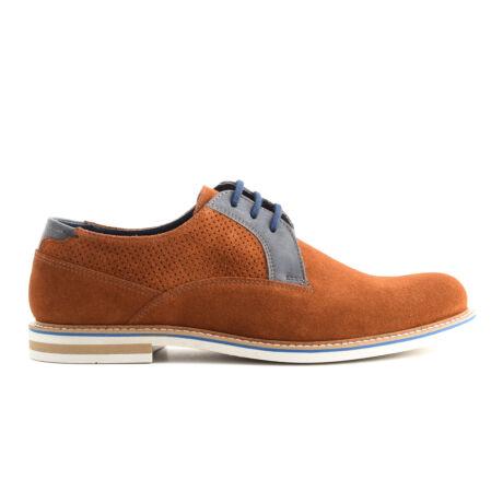 Simonetti fűzős alkalmi bőr cipő   169667_A