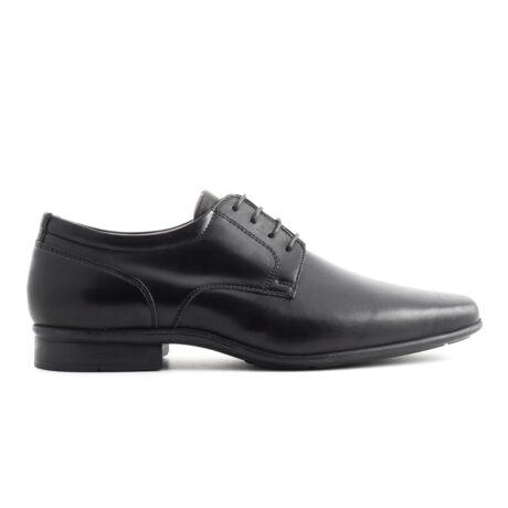 Simonetti fuzos alkalmi bor cipő fekete  169672_A